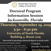 Doctoral Program Information Session - Jacksonville