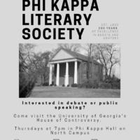 Phi Kappa Debate