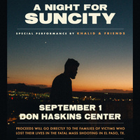 Khalid: A Night for Suncity