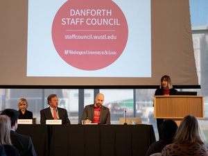 Danforth Staff Council Fall Town Hall