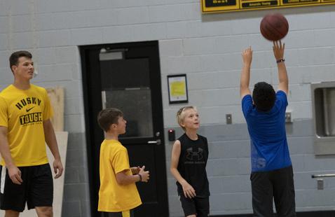 Little Huskies Boys' Basketball League