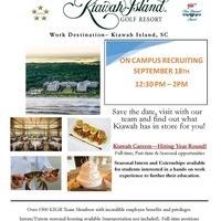 Kiawah Island Golf Resort On Campus Recruiting