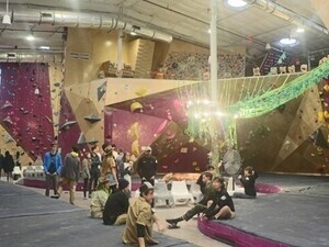 Climbing Team Tryouts
