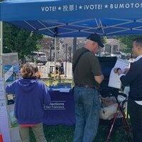 SF Election Outreach Pop-up