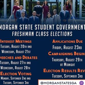 SGA Freshman Elections: Speeches & Debates