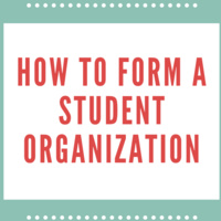 How to Form a Student Organization
