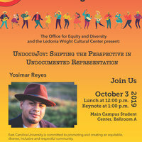 Latinx Heritage Month speaker, Yosimar Reyes: UndocuJoy: Shifting the Perspective in Undocumented Representation