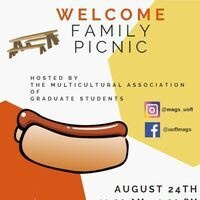 Multicultural Association of Graduate Students Welcome Family Picnic