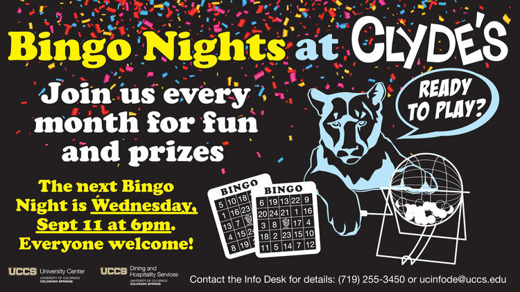 Bingo Night at Clyde's