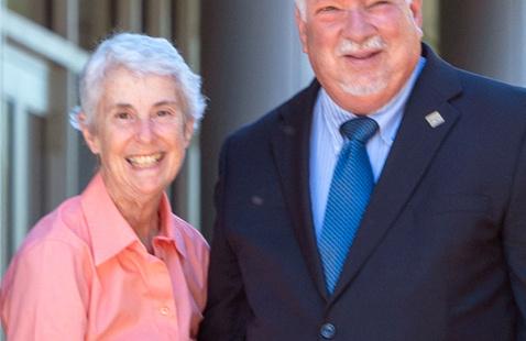 Dean Oppenheimer's Farewell Brunch in Stockton