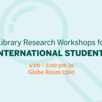 An Introduction to Library Research for International Students
