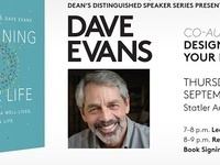 Dyson Dean's Distinguished Speaker Series Featuring Dave Evans