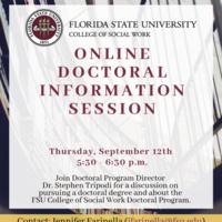 Online Doctoral Program Information Session