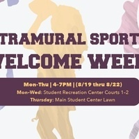 Intramural Welcome Week