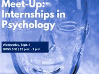 Meet-Up: Internships in Psychology