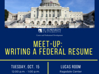 Meet-Up: Writing a Federal Resume