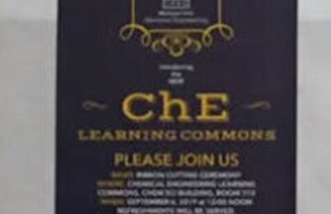 ChE Learning Commons Grand Opening