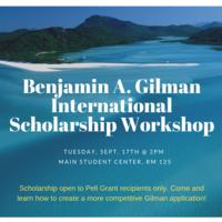 Benjamin A. Gilman International Scholarship Workshop