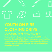 MAC Youth on Fire Clothing Drive