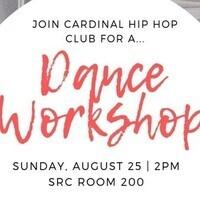 Cardinal Hip Hop Club Workshop