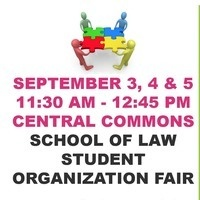 Law School Student Organization Fair