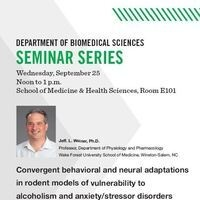 Biomedical Sciences Seminar Series