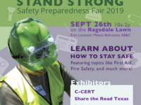 C-CERT's 5th Annual Hilltoppers Stand Strong Personal Preparedness Fair