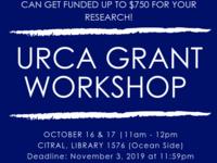 URCA Grant Workshop