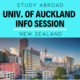University of Auckland Study Abroad Info Session