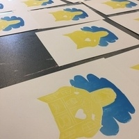 Intermediate Screen Printing: Multi-Color