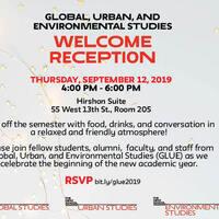 GLUE Welcome Reception 2019