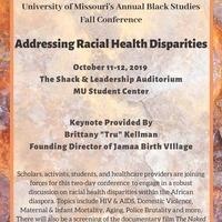 University of Missouri's Annual Black Studies Fall Conference