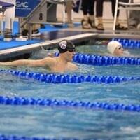 Kenyon swimmers