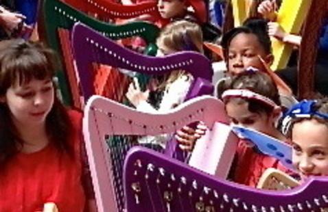 HarpAdventures Holiday Concert
