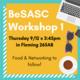 BeSASC Workshop #1