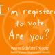 Voter Workshop: How to Register