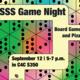 INTERNATIONAL GAME NIGHT