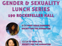 Gender and Sexuality Lunch Series