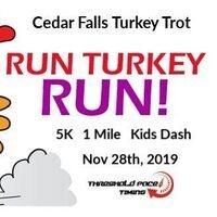 Cedar Falls Turkey Trot 5K Run Walk