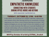 Empathetic Knowledge: Connecting with Students During Office Hours and Beyond