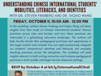 Understanding Chinese International Students' Mobilities, Literacies, and Identities