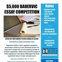 $5,000 Essay Competition: Research & Writing Workshop