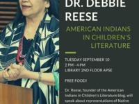 Dean's Scholar Series - Dr. Debbie Reese