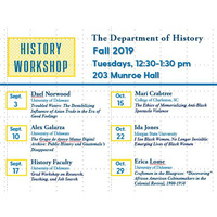 History Workshop - Erica Lome
