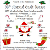 Church of the Redeemer's 38th Annual Craft Bazaar
