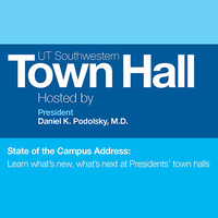 President's State of the Campus Address and town halls (South Campus)