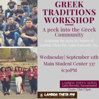 Greek Traditions Workshop