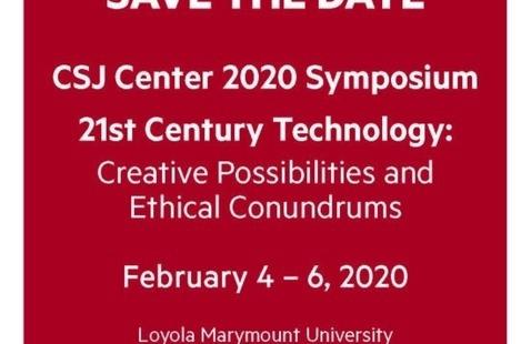 CSJ Center 2020 Symposium