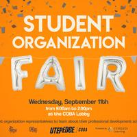 COBA Student Organization Fair