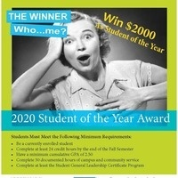 2020 Student of the Year Award